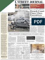 Wallstreetjournaleurope 20160610 the Wall Street Journal Europe