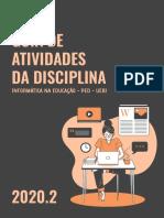 GUIA DE ATIVIDADES DA DISCIPLINA