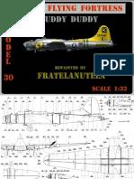 B-17 Flying Fortress Fuddy Duddy