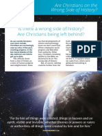 Are Christians on the Wrong Side of History (The Christian Institute)