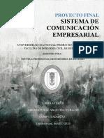 PROYECTO FINAL Sistema de Comunicación Empresarial