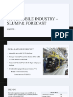 Automobile Industry – Decline in sales & forecast.pptx