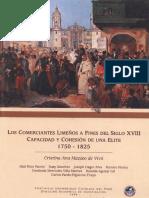 Comerciantes Limeños Siglo XVII