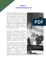 MPE-PLA706 - Unidad Didactica III