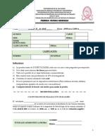 1° Prueba Ordinaria- Metodología de CCNN