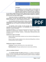 Filosofía de Las Bases de Datos. Prof. William Jiménez