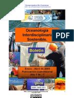 ISSN Boletn Oceanología Interdisciplinaria Sostenible