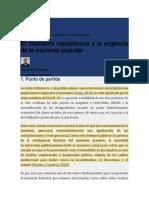 MAURICIO SANDOVAL (2020). LO NACIONAL-POPULAR