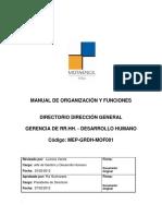 MOF - Gerencia de RR.HH - Desarrollo Humano.pdf