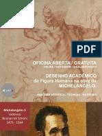 Desenho Acadêmico da Figura Humana na obra de Michelangelo-Prof Galber Rocha