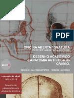 Desenho Acadêmico e Anatomia Artística do Crânio-Prof Galber Rocha