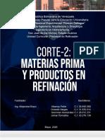 Informe Completo (Materias Prima y Productos de Refinacion)
