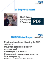 Dementia - Leading for Improvement