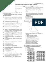 evaluación física movimiento uniforme 1