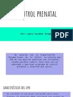 Control prenatal Colombia