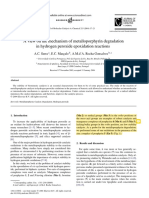 A view on the mechanism of metalloporphyrin degradation