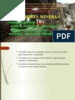LABORES MINERAS (1)