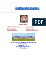 DSP FOR SMART BIOMETRIC SOLUTIONS (PRINTED)