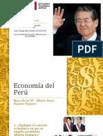 EXPOSICION ECONOMIA ALBERTO FUJIMORI