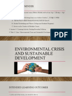 Environmental Crisis and Sustainable Development - final