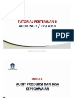 Ppt 6. Tulkit Auditing 2
