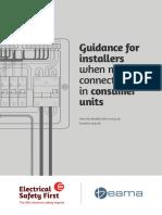 Consumer Unit Connections