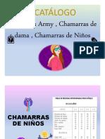 CATALOGO CHAMARRAS- AGOSTO-2020