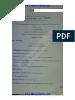 CY6151 Chemistry I Nov Dec 2015 QP