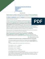 pasos del informe de investigación