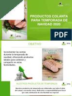 Presentación - Productos temporada Navidad COLANTA 2020