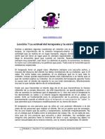 Leccion 7 La actitud del terapeuta y la entrevista inicial.pdf