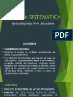 TEOLOGIA SISTEMÁTICA_DOUTRINA