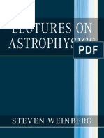 Steven Weinberg - Lectures on Astrophysics-Cambridge University Press (2019)