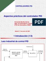 Aspectos practicos del PID