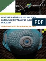 Covid - 19 Especial Laboral - Septiembre 2020