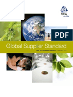 Global Supplier Standards for SCA hygiene business English