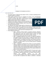 Business Statistics II X_Summary_Aldira