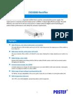 POSTEF_ZXD3000 Rectifier