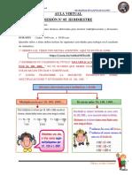 A. VIRTUAL N° 05 MULTIPLICACIONES Y DIVISIONES POR 10 100 Y 1000 III BIMESTRE (2)
