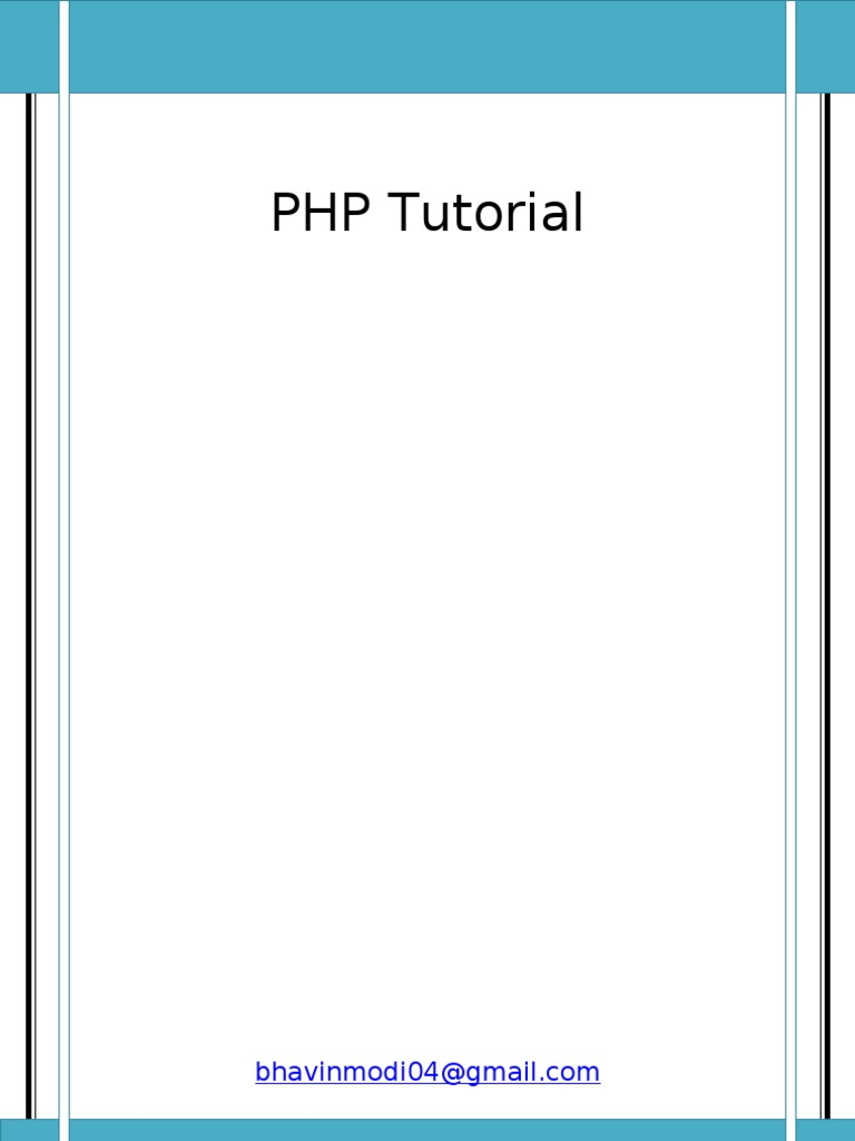 PHP Tutorial   Php   Control Flow