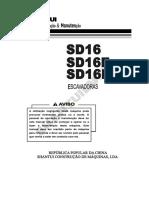 SD16 操作保养说明书(葡萄牙语)