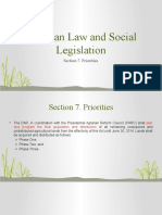 Agrarian Law and Social Legislation - Sect 7
