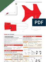 Laminated Paper Airplane 0010660 pattern