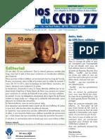 Echos CCFD77 - Janvier 2011