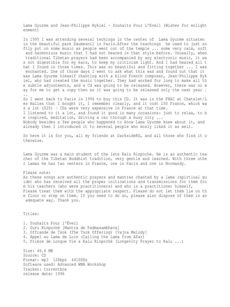 info | Padmasambhava | Tibetan Buddhism