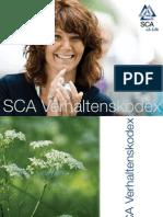 SCA Verhaltenskodex Deutsch