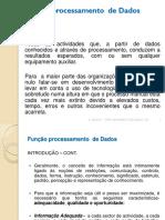 FUNÇÃO DE PROCESSAMENTO DE DADOS- AI