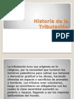 5 Historia de la Tributación