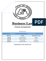 Business Law Project
