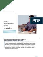 Comparazione tariffe e condizioni della polizza professionale in corso di un geometra.